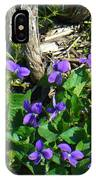 Sweet Violets IPhone Case