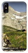 Swiftcurrent Falls Glacier Park 1 IPhone Case