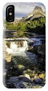 Swiftcurrent Falls Glacier Park 4 IPhone Case