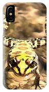 Swimming Frog IPhone Case