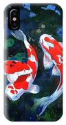 Swimming In Peace IPhone Case
