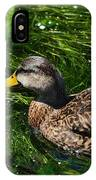 Swimming In The Grass IPhone Case