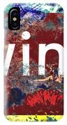 Swimming In Wine IPhone Case