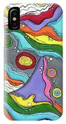 Swimming Upstream IPhone Case