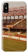 Swindon - County Ground - Main Stand 2 - 1970s IPhone Case