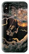 Swinging Through The Forest By Moonlight IPhone Case