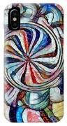 Swirl 12 IPhone Case