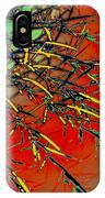 Swirl Barrel Cactus IPhone Case
