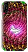 Swirledya-neonaya Catus 1 No. 1 H B IPhone Case