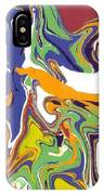 Swirls Drip Art IPhone Case
