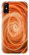 Swirls Of Orange IPhone Case