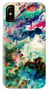 Swirls Of Paint Xii IPhone Case