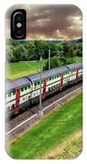 Swiss Passenger Train IPhone Case