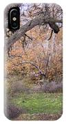 Sycamore Grove Fall IPhone Case