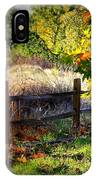 Sycamore Grove Fence 1 IPhone Case