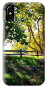 Sycamore Grove Series 12 IPhone Case