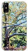 Sycamore Trees At The Zoo IPhone Case