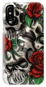 Syfy- Skulls IPhone Case