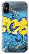 Sykotik And Pystoff Batman IPhone Case