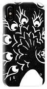 Symbol: Peacock IPhone Case
