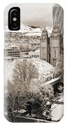 Tabernacle And Temple IPhone Case