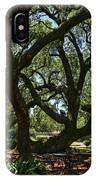 Table Under The Oak Tree IPhone Case