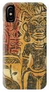 Tahitian Idol IPhone Case