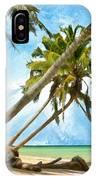 Tahitian Idyll IPhone Case