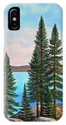 Tahoe Shore IPhone Case
