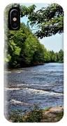 Tahquamenon River IPhone Case