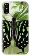 Tailed Jay Butterfly #2 IPhone Case