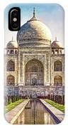 Taj Mahal - Paint IPhone Case