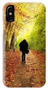 Take A Walk IPhone Case