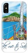 Take Me To Saba IPhone Case
