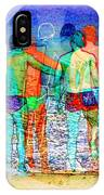Taking The Plunge Together IPhone Case
