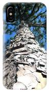 Tall Pine Tree In Summer IPhone Case