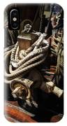 Tall Ship Details IPhone Case