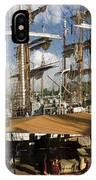 Tall Ships Heritage Landing IPhone Case