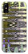 Tall Tempe Building Abstract IPhone Case