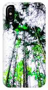 Tall Trees To The Sky IPhone Case