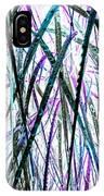Tall Wet Grass IPhone Case