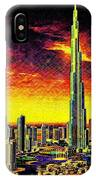 Tallest Building In The World IPhone Case