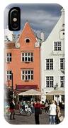 Tallinns Town Hall Square IPhone Case