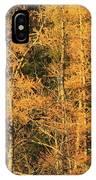 Tamarack Foliage IPhone Case