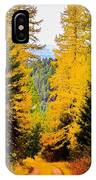 Tamarack Trail IPhone Case