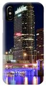 Tampa Bay Pano Lights IPhone Case
