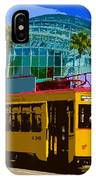 Tampa Trolley IPhone Case