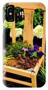 Tan Chair Planter IPhone Case