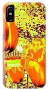 Tangerine Tulips IPhone Case