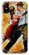 Tango In Red IPhone Case